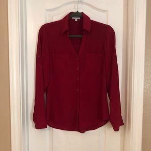 Express Red Portofino Shirt